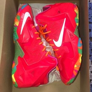 Lebron XI fruity pebbles